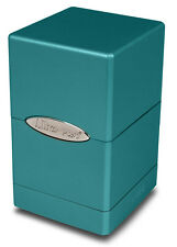 1 Ultra Pro Metallic Satin Tower Deck Box - Ocean - MTG Gaming