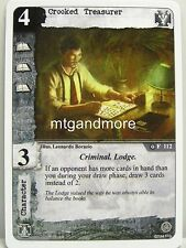 Call of Cthulhu LCG - 1x Crooked Treasurer  #112 - Necronomicon Draft Pack