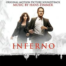 HANS ZIMMER - INFERNO - OST - ORIGINAL SOUNDTRACK - CD NEU
