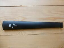 EBONY VIOLIN FINGERBOARD, NEW, 4/4 WITH FLOWER INLAY, BEAUTIFUL, UK SELLER!