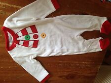 Baby grow Snowman 9/12 Months Christmas Suit Onesie All In One Girls Or Boys C1