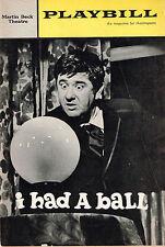 1965 Playbill I Had A Ball Buddy Hackett Richard Kiley