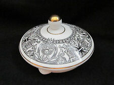 Wedgwood - FLORENTINE BLACK & WHITE - Teapot Lid Only - BRAND NEW