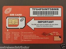 SPECIAL T-Mobile DUAL CUT NET10 MICRO / MINI SIM CARD WITHOUT CONTRACT $35 @ MO