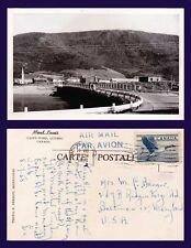 CANADA QUEBEC MONT-LOUIS GASPE-NORD E. PERRON PHOTO POSTED 1958 TO BALTIMORE