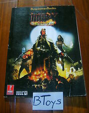 Hellboy The Science of Evil Official Strategy Guide PS3 XBox 360 - Prima Games