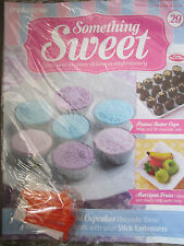 DEAGOSTINI SOMETHING SWEET MAGAZINE ISSUE 29 - WITH 6 DIFFERENT STICK EMBOSSERS