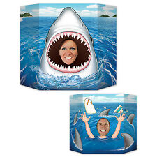 Shark Photo Prop - 94 x 64cm - Deep Sea Animal Party Decoration - Shark Attack