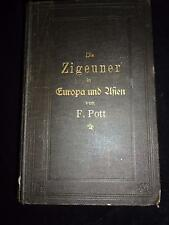 Die Zigeuner in Europa & Asien by A F Pott romany gypsy culture linguistics RARE