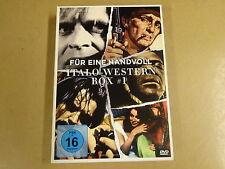 3-DVD BOX / FUR EINE HANDVOLL ITALO- WESTERN BOX # 1