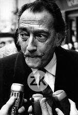SALVADOR DALI Portrait Micro Radio Monte-Carlo Interview Paris Photo 1960s #1