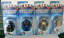 JUSTICE LEAGUE 4 FIGURE SET WONDER WOMAN/HAWKGIRL/MARTIAN MANHUNTER/BATMAN 2003