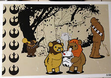 "Star Wars Ewok Afterparty movie 13""x19"" poster print"
