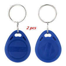 2 Pcs Key EM4100 Token Proximity ID Keyfobs Tag NEW RFID Chain 125Khz