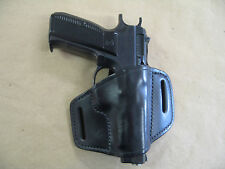 FIE TZ 75 Excam TA 90 Jericho 940/941 Leather 2 Slot Molded Pancake Belt Holster