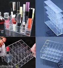 24 Trapez Lippenstift Make-up Kosmetik Halter Fall Stand Veranstalter Klar Neu