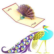 3D Pop Up Weihnachtskarte Gruß Geschenk Hochzeit Geburtstag Glückwunschkarte HOT