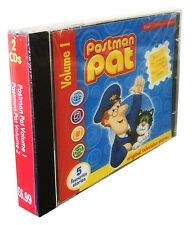 Postman Pat 2 CDs  Original song & 10 favourite TV stories. *NEW* double CD pack