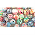 50 PCS Mixed Color Fimo Polymer Clay Round Beads 8mm