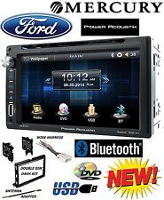 FORD MERCURY TOUCHSCREEN Double Din Bluetooth CD DVD USB Car Radio Stereo PKG
