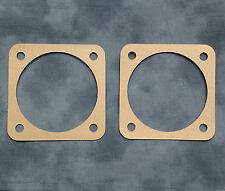 GASKET x2 Triumph BSA Unit Twin OIF A65 T120 T140 TR7 oil sump filter - 83-2829