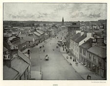 Annan main street, 1890s photographic view