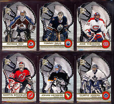 2001-02 PACIFIC Prism McDONALD HOCKEY COMPLETE MASTER SET WITH ALL inserts sets