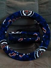 Detroit Tigers BLUE STEERING WHEEL COVER SET