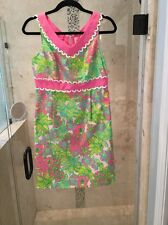 RARE VINTAGE LILLY PULITZER ORIGINALS Classic PINK Koala Big Squeeze  DRESS 4