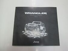 2016 Jeep Wrangler Rubicon Unlimited Sales Brochure Manual FACTORY OEM BOOK 16