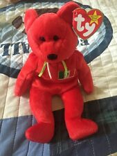 Osito: Mexican Bear Ty Beany Baby Retired-original No number on the Tush  tag