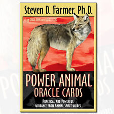 Power Animals Oracle Cards A 44 card Deck With Guidebook [Cards] NEW