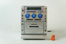 United MID 4200 Kassettenrekorder Tuner Verstärker ok aber: DVD CD Defekt
