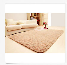"15.6""*23.2"" Khaki Cover Soft Carpet Rug Area Bedroom Bathroom Living Room Floor"