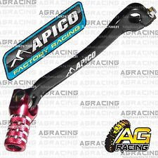 Apico Black Red Gear Pedal Lever Shifter For Honda CRF 450R 2012 Motocross MX