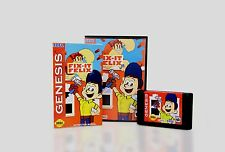 Fix it ( Fix-it ) Felix Jr for Sega Genesis! Cart and Box with Manual!