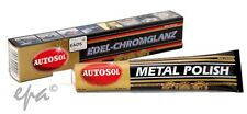AUTOSOL METAL POLISH CREAM CHROME S STEEL CAR 4WD HARLEY BIKE MOTORCYCLE