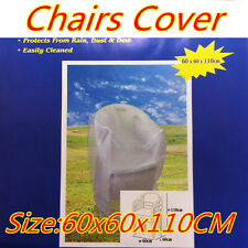 Outdoor Garden Rectangle Party Plastic Furniture Chairs Covers Dust Waterproof