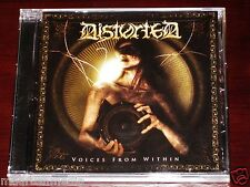 Distorted: Voices From Within CD 2008 Candlelight USA Records CDL407CD NEW