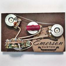 NEW EMERSON CUSTOM ELECTRONICS 5-WAY STRAT BLENDER PREWIRED ASSEMBLY $0 US SHIP!