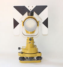 Topcon Single Prism & Tribrach adapter Set system for total station surveying