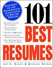 Practical Flying Ser.: 101 Best Resumes : Endorsed by the Professional...