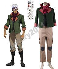 Gundam Iron Blooded Orphans Tekkadan Flower Orga Itsuka Leader Cosplay Costume