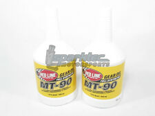 Red Line Sythentic MT-90 75W90 GL-4 Gear Oil Manual Trans (2 1-Quart Bottles)