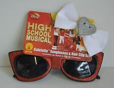 High School MUSICAL Gabriella Red Sun Glasses White Hairbow HSM Costume Collect