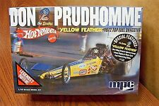 """MPC DON the SNAKE PRUDHOMME """"YELLOW FEATHER"""" TOP FUEL DRAGSTER 1/25 SCALE KIT"""