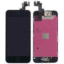 Full Replacement Front LCD Touch Digitizer Screen for Black iPhone SE w/Button