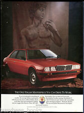 1986 MASERATI BITURBO advertisement, Maserati Biturbo coupe