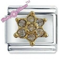 DAISY CHARM JSC Italian Charms APRIL FLWR BIRTHSTONE