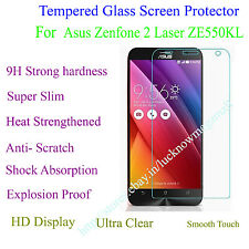 Tempered Glass ScreenGuard Protector HD Quality For Asus Zenfone 2 Laser ZE550KL